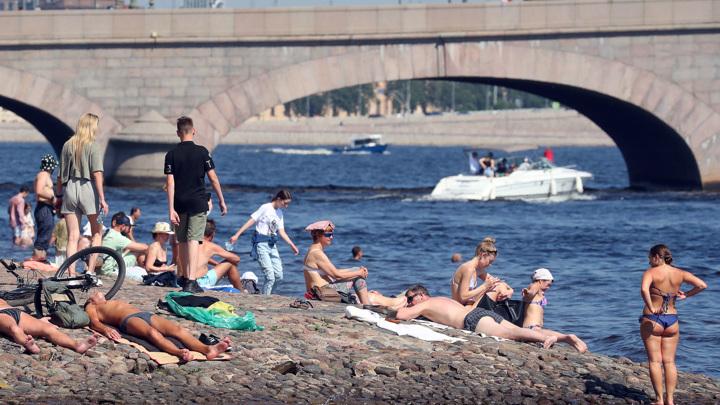 Питерская жара побила 116-летний рекорд