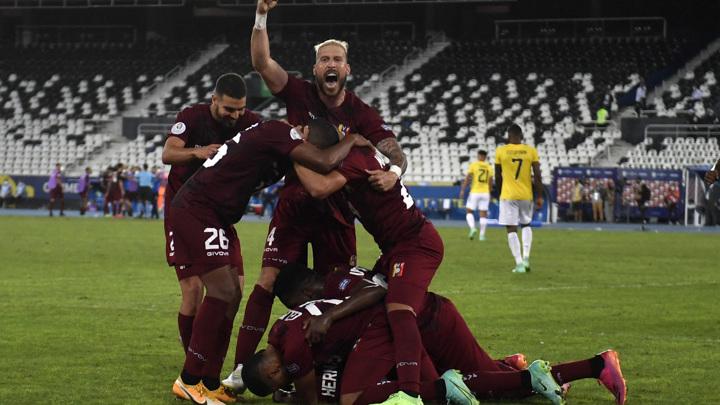 Венесуэла и Эквадор не выявили победителя в матче Кубка Америки