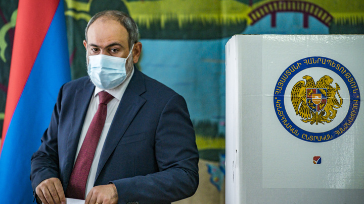 Партии Пашиняна не хватило 0,08% для формирования правительства