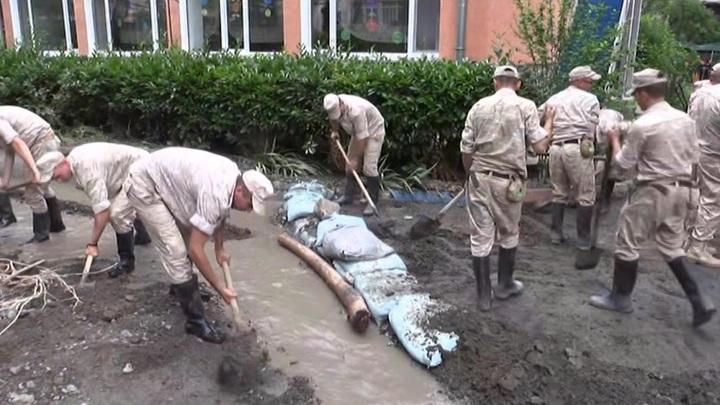 55 человек обратились к медикам после после ливней и подтоплений в Ялте