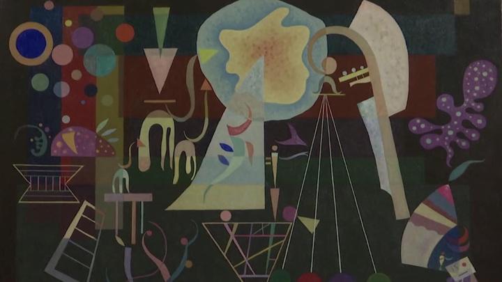 """Картину Кандинского """"Умиротворенные напряженности"""" выставят на торги в Лондоне"""