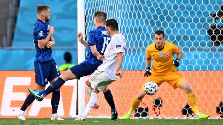 Сборная Испании отгрузила пять голов Словакии
