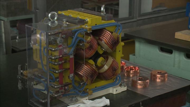 """В Новосибирске специалисты Института ядерной физики выпустили первые элементы синхротрона """"СКИФ"""""""