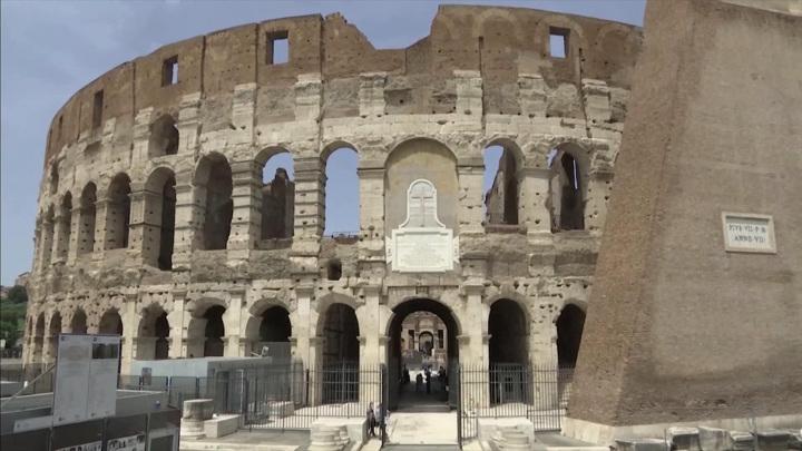Впервые в истории: подземный уровень Колизея – гипогей – открыли для посетителей