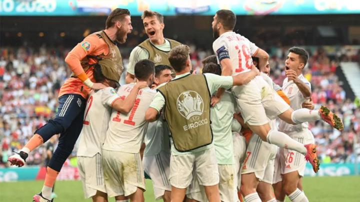 Испания перестреляла Хорватию в борьбе за 1/4 финала Евро-2020