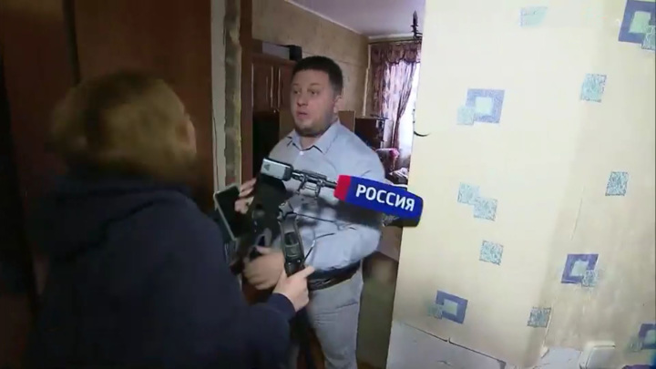 Задержан напавший на съемочную группу ВГТРК квартирный рейдер