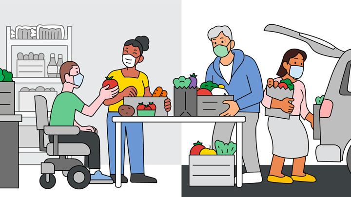Google поможет нуждающимся найти еду