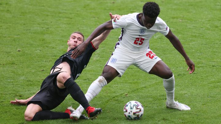 Евро-2020. Англия – Германия – 2:0. Матч 1/8 финала