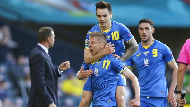 Футболисты Украины завоевали путевку в четвертьфинал Евро-2020