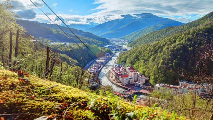 В Минприроды подана концепция развития единого горного кластера Сочи