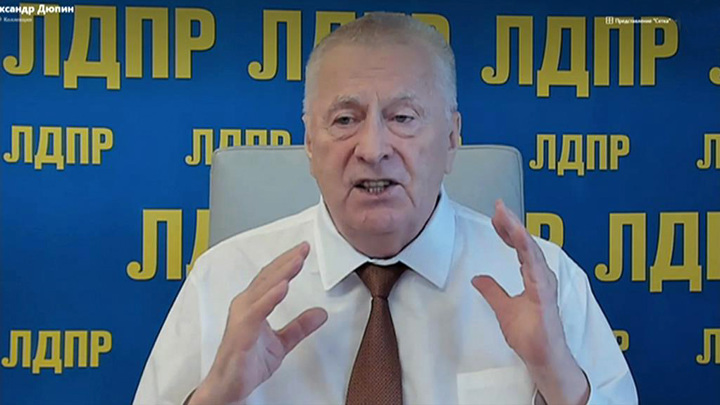 Жириновский дал Зюганову совет насчет Грудинина