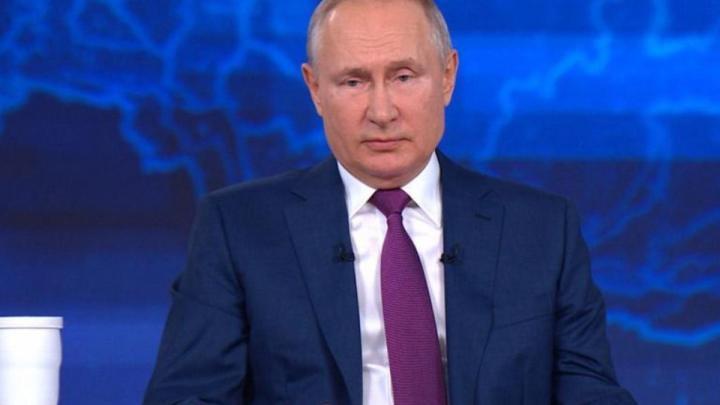 Владимир Путин ответил в прямом эфире на вопросы россиян