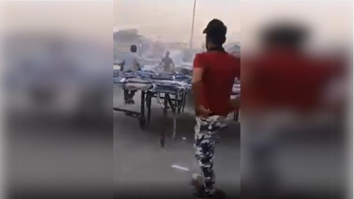 На рынке в столице Ирака прогремел взрыв, есть раненые