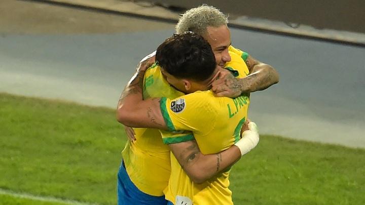 Сборная Бразилии расправилась с командой Уругвая