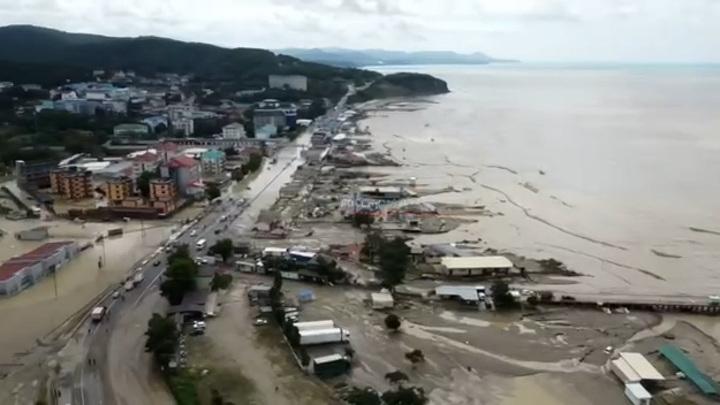 Смертельная стихия: жертвами паводка в Туапсинском районе стали 4 человека