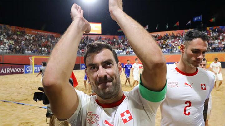 Пляжный футбол. Швейцария заменит Украину на чемпионате мира
