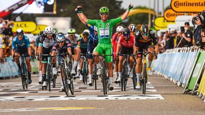 "Британец Кавендиш повторил рекорд ""Тур де Франс"" по количеству побед"