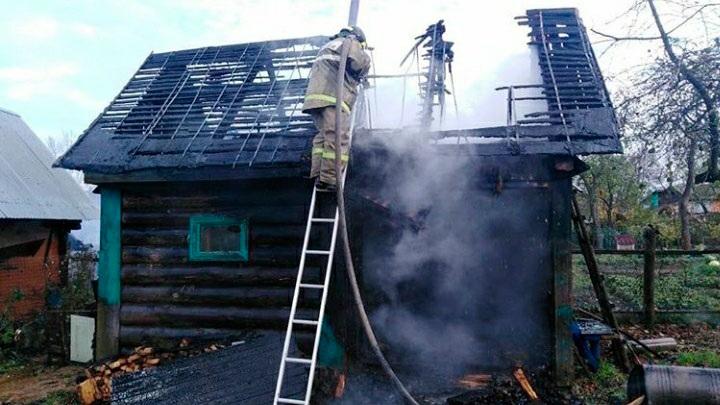 Пятеро детей погибли во время пожара под Смоленском