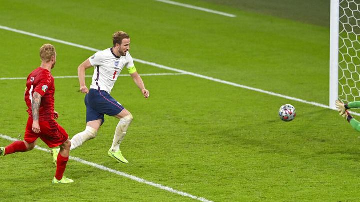 Сборная Англии стала вторым финалистом Евро-2020