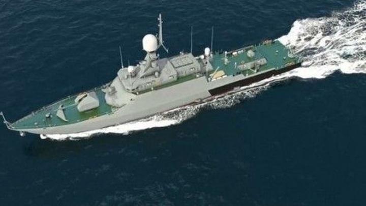 Российские корабли выполнили стрельбы на учениях в Черном море