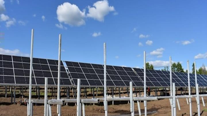 В Красноярском крае запустили первую солнечную электроустановку