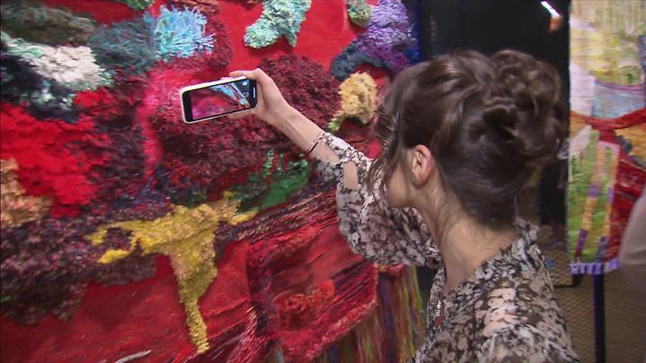 """В музее-заповеднике """"Царицыно"""" открылась Триеннале текстильного искусства"""