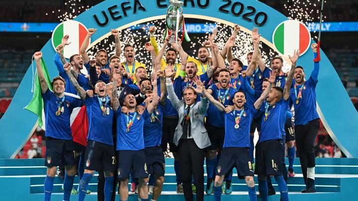Италия обыграла Англию и во второй раз стала чемпионом Европы