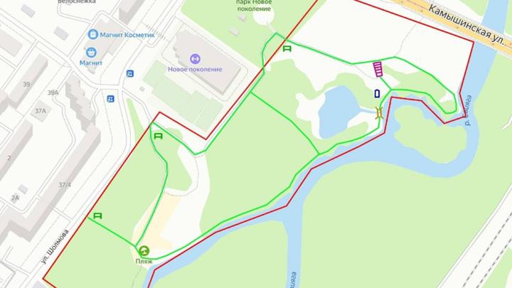 В Ульяновске создают велотропу вдоль реки Свияги