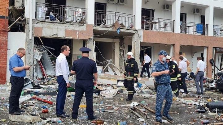 МЧС уточнило данные о погибших при взрыве в Геленджике