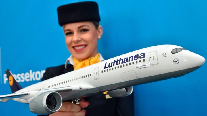 """Lufthansa отказалась от обращения """"дамы и господа"""""""
