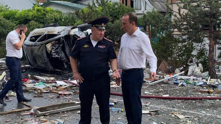 В Геленджике спасатели завершили поиски пострадавших на месте взрыва газа