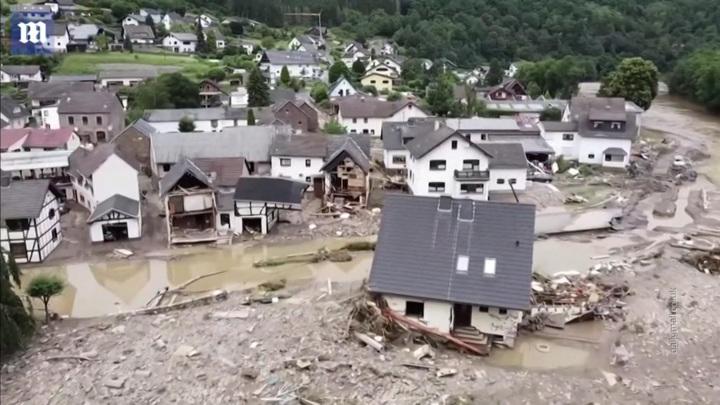 Более 70 человек погибли на западе Германии