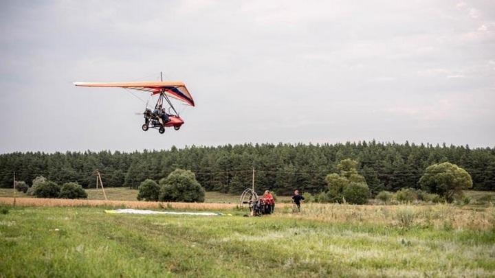 Пилот дельтаплана погиб при крушении в Белгородской области