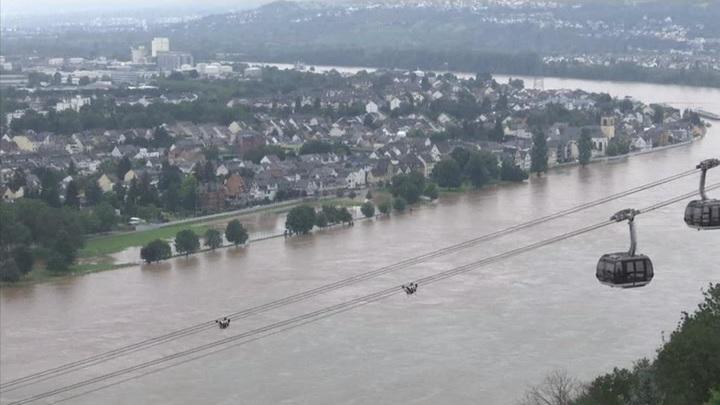 Несколько немецких ГЭС вышло из строя
