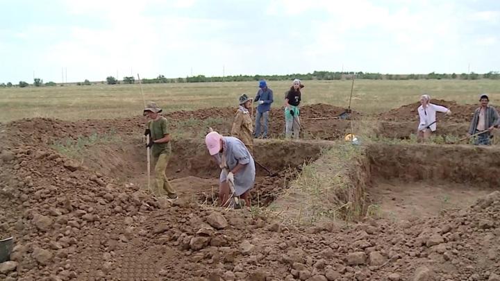 Археологи из Волгограда нашли редкое захоронение половецкого воина