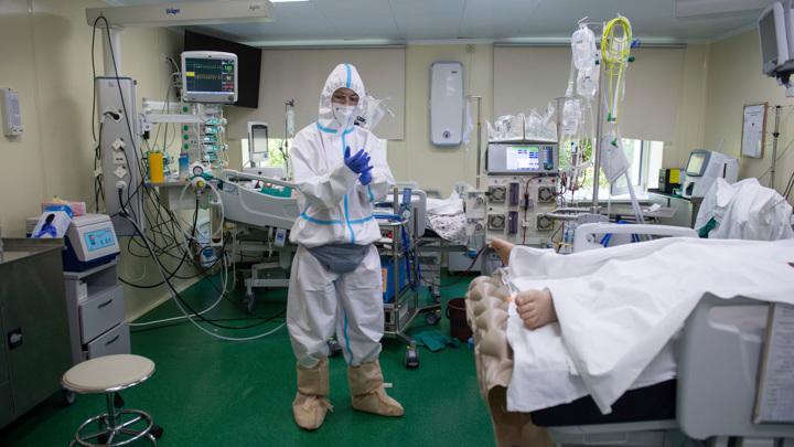 За сутки в России зафиксировано 22 тысячи новых случаев COVID-19