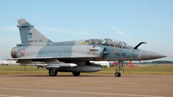 Французский Mirage 2000 разбился в Мали