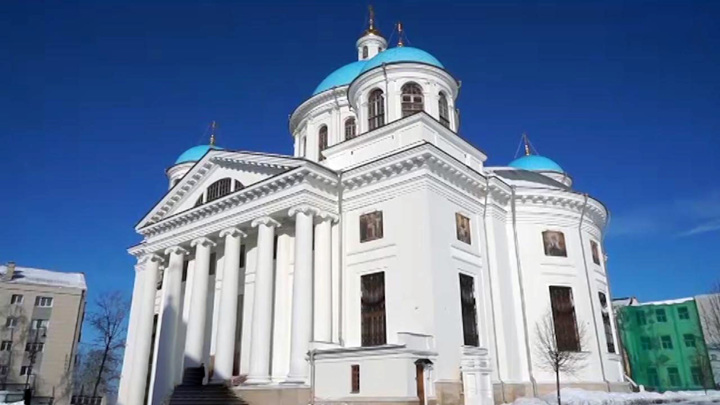 Освящение Собора Казанской иконы Божией матери проведет Патриарх Кирилл