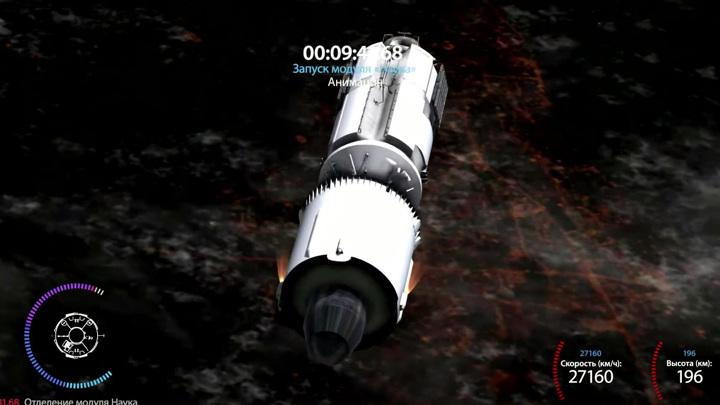 """Модуль """"Наука"""" неожиданно развернул МКС: почему заработали двигатели"""