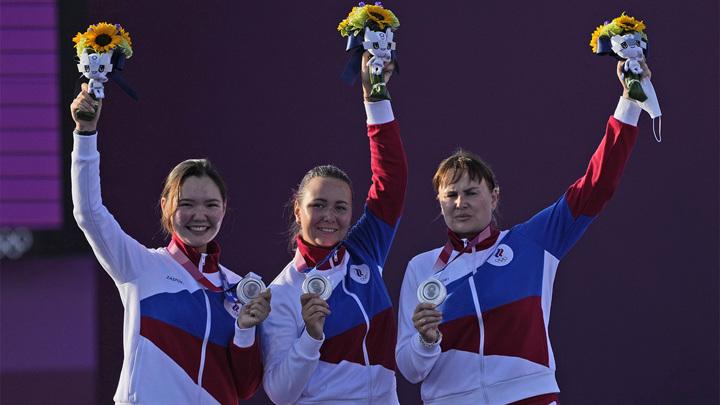 Лучницы из России выиграли серебро Олимпиады-2020