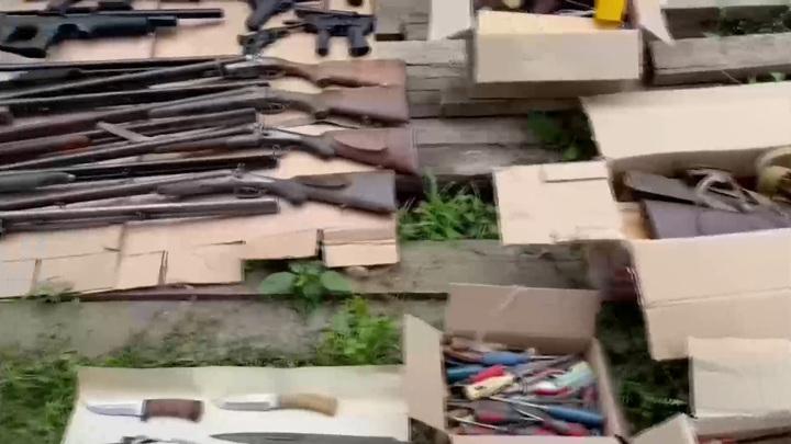 ФСБ закрыла 32 подпольных оружейных мастерских в 25 регионах страны