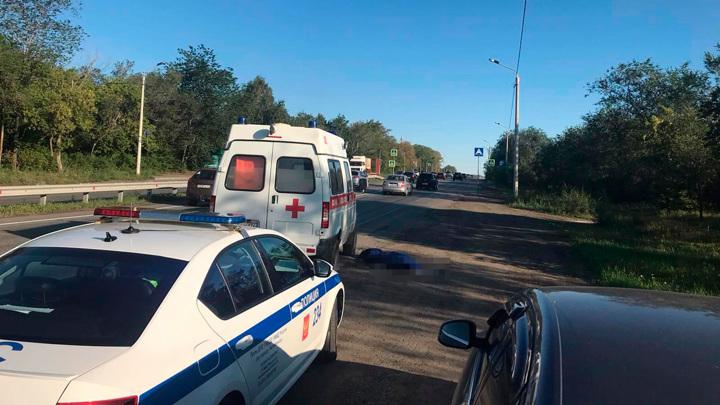 """Пациентка погибла, выпрыгнув на ходу из """"скорой"""" в Челябинске"""