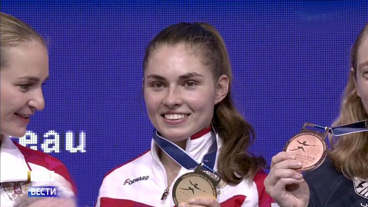 Саблистка Позднякова завоевала золото в российском финале Олимпиады