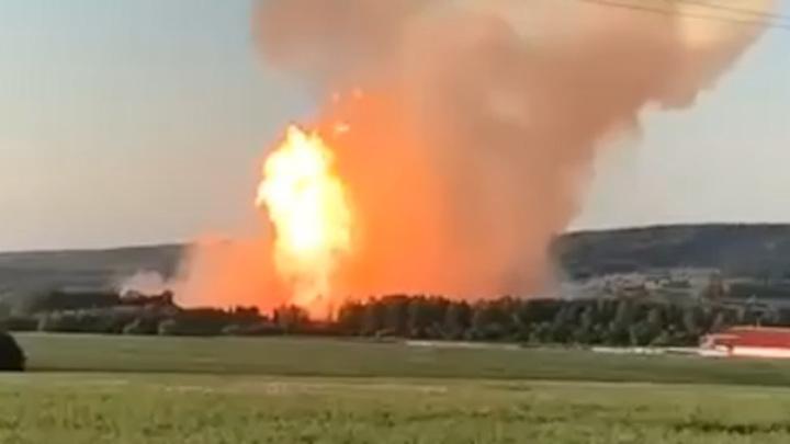 В Пермском крае произошла серьезная авария на газопроводе