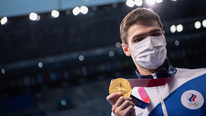 Путин поздравил пловца Рылова с победой на Олимпиаде