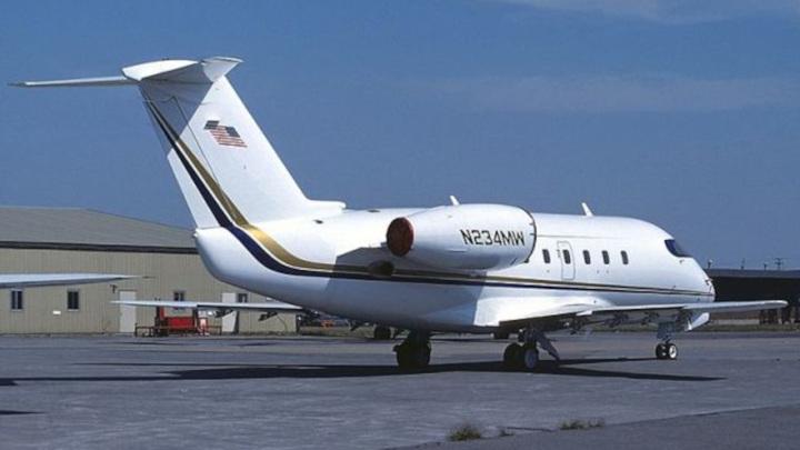 Небольшой реактивный самолет потерпел крушение в Калифорнии