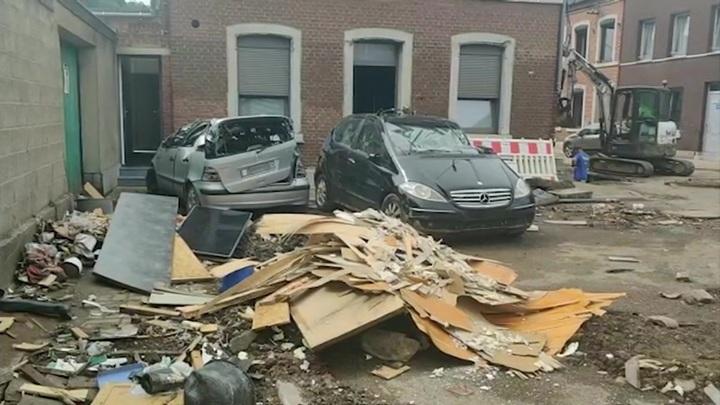 В Бельгии после наводнения главной проблемой стали мародеры