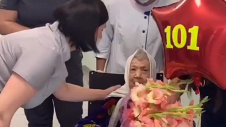 В подмосковной больнице ковид победила 101-летняя пациентка