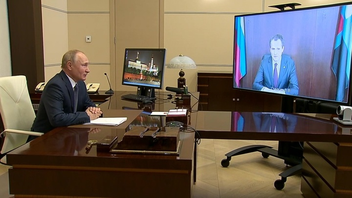Путин поддержал предложение создать ОЭЗ в Белгородской области