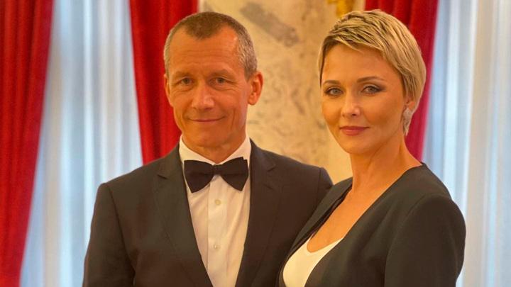 Дарья Поверенова и Андрей Шаронов / Фото: instagram.com/dpoverennova/